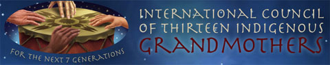 International Council of 13 Indigenous Grandmothers Logo
