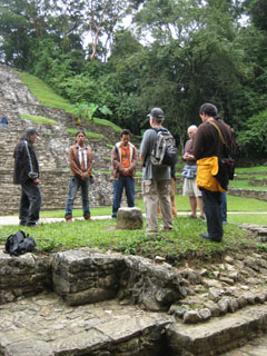 Ceremony at Palenque